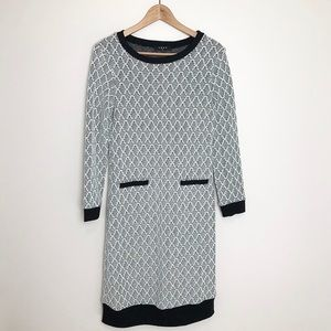 Luna Patterned Sweater Dress